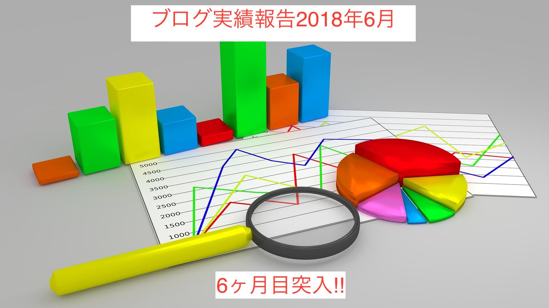 【6月度報告】ブログを始めて5ヶ月、経過報告します。